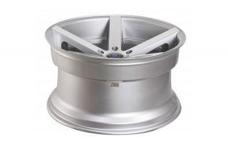 "20"" Rohana RC22 Deep Concave Silver Staggered Wheels Rims BMW E92 E93 M3 Coupe"