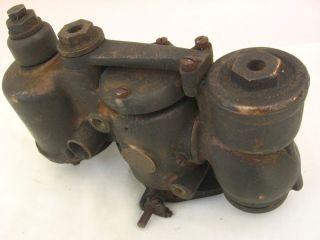 Vintage Rayfield Brass Era Carburetor Antique Auto Horseless Carriage Hit Miss