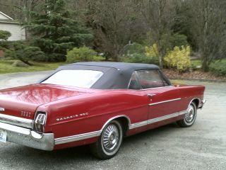 1967 Ford Galaxie Convertible