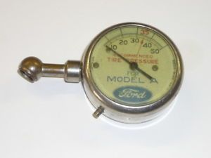 Nice Model A AA Sedan Coupe Victoria Ford Tire Gauge Tool Kit Accessory