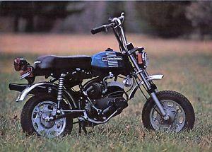 Harley Davidson x90 133cc Photo Vintage Mini Bike Minicycle