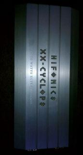 Hifonics XX Cyclops Car Amplifier Old School 4000 Watt RMS