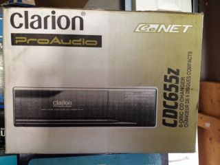 Clarion CDC655Z 6 Disc CD Changer