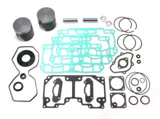 SPI Dual Ring Piston Full Complete Gasket Kit Ski Doo 800 MXZ Summit Adrn 08 09