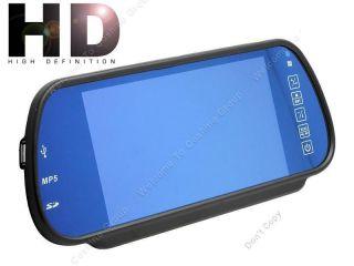 "HD 800×480PIXESL 7"" LCD in Car Rear View Reverse Mirror Monitor Touch Screen"
