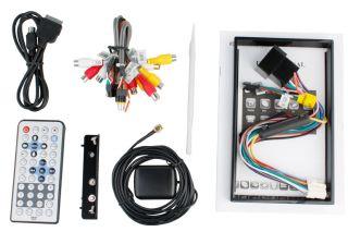 "Digital HD 7""Touch Screen 2 DIN Car DVD Player GPS 3D Pip RDS iPod TV Camera Map"