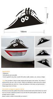 Funny Peeking Monster Auto Car Walls Windows Sticker Graphic Vinyl Car Decals
