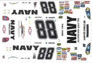 88 Brad Keselowski Navy 1 64th HO Scale Slot Car Decals
