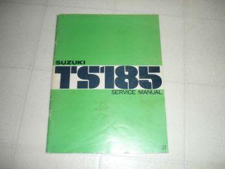 1976 Suzuki TS185 Original Service Manual
