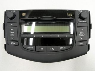 Toyota 2010 RAV4 Stock Am FM CD Player Stereo 86120 42291