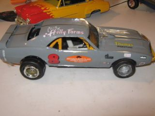69 Pontiac Firebird Short Track Modified Stock Car Custom Built 1 24th Model Car