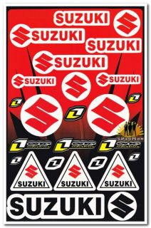 Helmet Fairing Decal Sticker for Suzuki GSXR 400 600 750 1000 1100 1300 Hayabusa