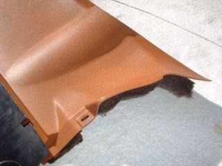 W123 240D 300D Mercedes Benz Lt Drivers Side Lower Under Dash Panel Trim Bamboo