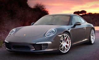 """19"""" Ruger Mesh Wheels Silver Porsche 997 991 911 Carrera 2 4 C2 C4 Narrowbody 18"""