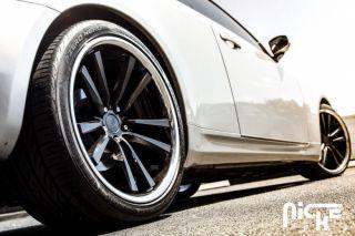 """20"""" Niche Concourse Wheels Black BMW 5 Series 525 528 530 535 545 550 M5 E60 E61"""