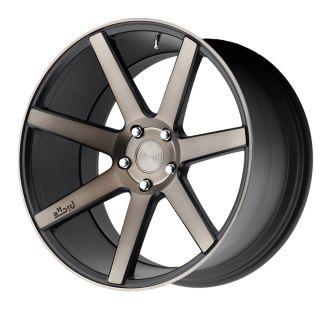 "20"" Niche Verona Black Machined Concave Wheels Rims for Infiniti G35 Sedan"