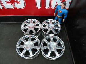 """17"""" Cadillac Wheels 04 05 Factory cts STS Stock Alloy Rims 4678 4687"""