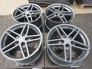 2 18x8 5 and 2 18x9 5 Camaro Firebird C4 C5 Z06 Corvette Wheel Rim Set