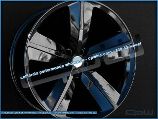 """22"""" Authentic Marcellino CHALLENGER22 Wheels Fits Dodge Charger Magnum Chrysler"""