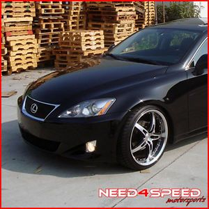 "19"" Lexus SC SC430 MRR GT5 Black Staggered Wheels Rims"