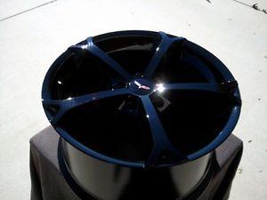 Black Corvette Grand Sport Style Wheels for C5