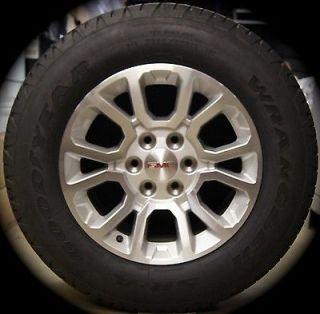 """2014 GMC Sierra Yukon XL 18"""" Wheels Rims Tires Chevy Silverado Suburban Tahoe B"""
