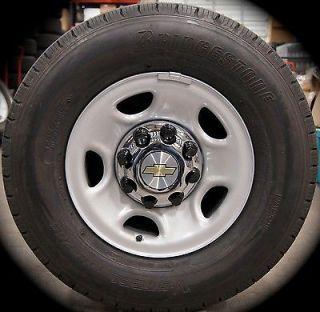 """New Chevy Silverado Suburban Express 2500 3500 Factory 16"""" Wheels Rims Tires"""