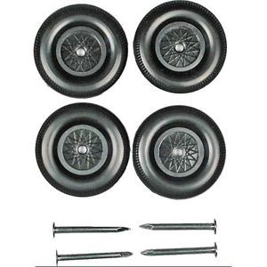 Pinewood Derby Car Stock Wheels and Axles