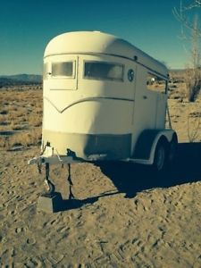 2 Horse Trailer with 4 Tires or Cargo Trailer