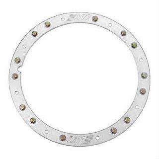 "Dick Cepek Wheel Trim Ring Classic Lock Bolt on 17"" Dia Aluminum Polished Ea"