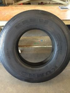 Kumho 12R22 5 KRS 02 Longmark Steer Tire for Tractor Trailer