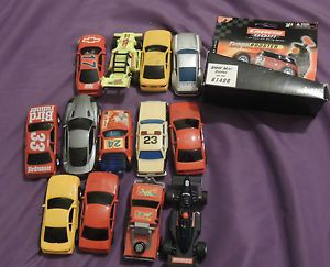 Vintage Slot Car Lot of 14 Some New Some for Parts Carrera BMW Mini Cooper