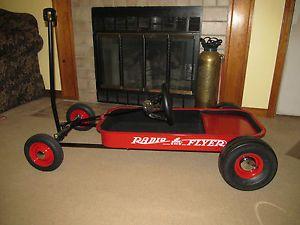 Radio Flyer Wagon Hot Rod Rat Rod Dragster Go Kart