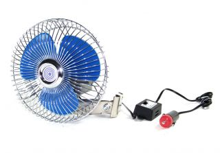 12 Volt Auto Truck Car Boat Cooling Ocillating Air Fan