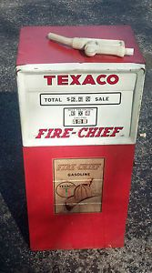 Vintage Pedal Car Gas Pump Texaco Fire Chief