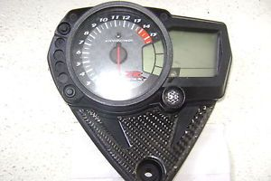 2008 Suzuki GSXR 1000 Gauges Tachometer Electrical Tach Speedo Carbon Fiber