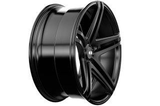 "20"" Honda Accord Sedan XO Caracas Concave Matte Black Staggered Wheels Rims"