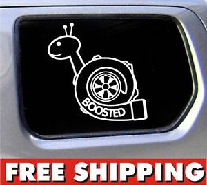 JDM boosted Decal Vinyl Sticker Turbo Car EG EK SI Car
