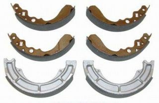 Front Rear Brake Shoes Suzuki Quadrunner 250 4x4 Lt 4WD 1987 1988 1989 1990