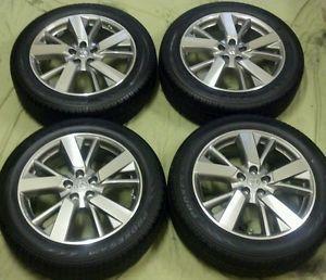 Set of 4 New 2013 Nissan Pathfinder 20 inch Factory Enkei Wheels Tires