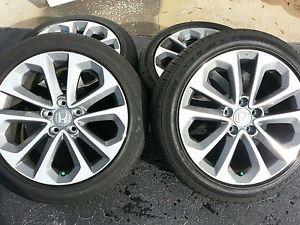 2014 Honda Accord Sport Wheels Rims Enkei Factory 235 45 18 Goodyear Tires