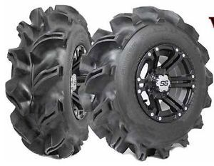 2 New Interco 28x10 14 28 10 14 Super Swamper Vampire EDL Mud Tires