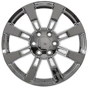 "22"" inch GMC Truck 2012 Sierra Yukon Denali Chrome Rims Wheels Fits 2012 Denali"
