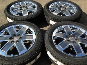 "GMC Acadia Denali 20"" Chrome Wheels Rims Tires"