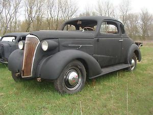 1937 Chevy Coupe Project Great Parts Car Auction Flyer