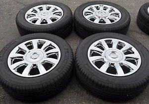 """19"""" Buick Enclave Chrome Wheels Rims Tires Factory Wheels 4098"""