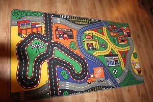 Kids Area Rug Car Toy Mat Play Area ''
