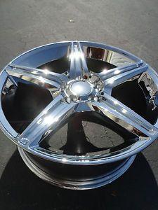 "New 4 Set 19"" MBZ Mercedes AMG Style Replica Wheels Rims Staggered Chrome 19x8 5"