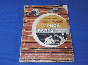 1955 1956 1957 Chevrolet GMC Truck Parts Catalog