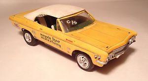 Chevy Impala Convertible Junkyard Plastic Model Parts Rebuild